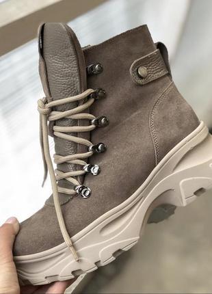 Хит 2020♥️ женские зимние ботинки {натуральная замша}