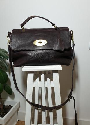 Кожаная сумка mulberry оригинал