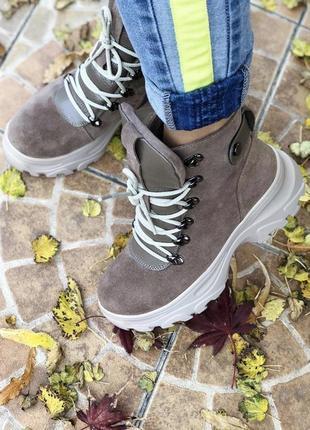 Крутые качественные зимние женские ботинки