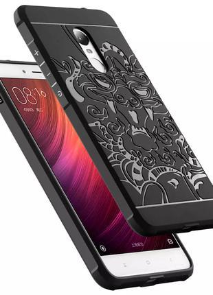 Чехол cocoSe с рисунком для Xiaomi Redmi Note 4 ( Helio X20 НЕ...