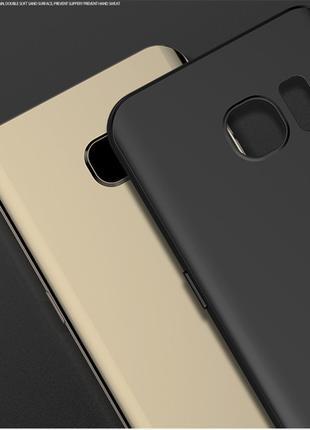 Тонкий матовый чехол для Samsung S7 Edge