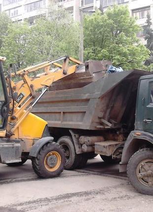 Вывоз строй мусора уборка чистка территории вивіз будівельного