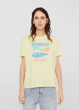 Нова футболка mango р. m-l