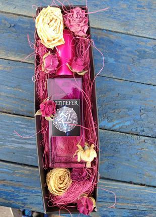 Духи Йеннифер в подарочной упаковке. Сирень и Крыжовник. Handmade
