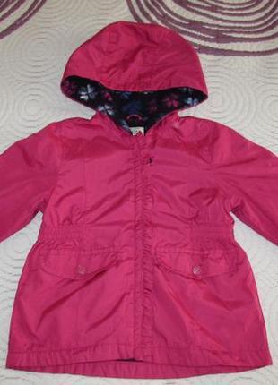 Курточка на флісі oshkosh на 5 років