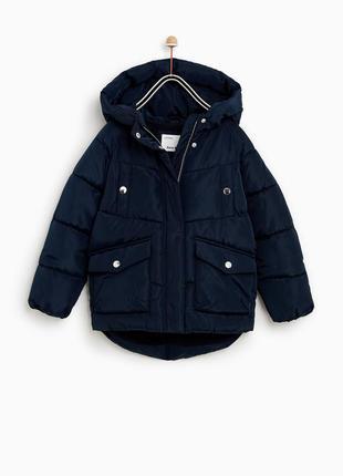 Нова курточка zara р. 140 та 152 єврозима