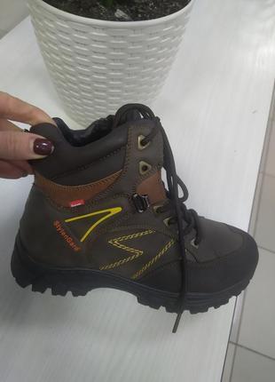 Зимние подростковые ботинки