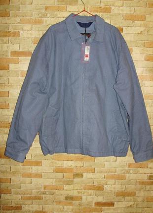 Новая фирменная мужская куртка в принт размера xxl