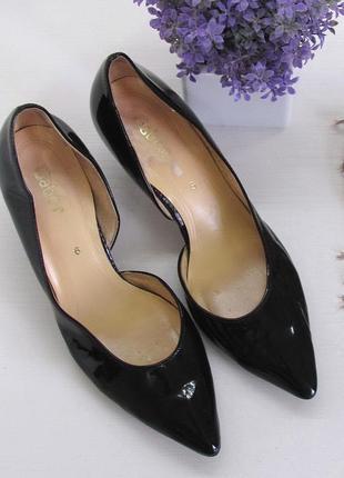 Шикарные туфли gabor, германия, натуральная кожа