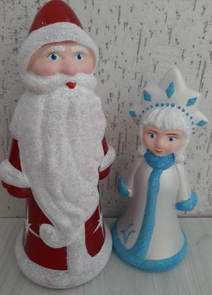 Игрушки. Набор дед Мороз и Снегурочка под елку