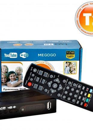 Ресивер цифрового телевидения MEGOGO 169 Т2 приемник тюнер при...