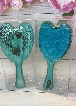Расческа- щетка для волос,цвет голубой (маленькая) к.16046