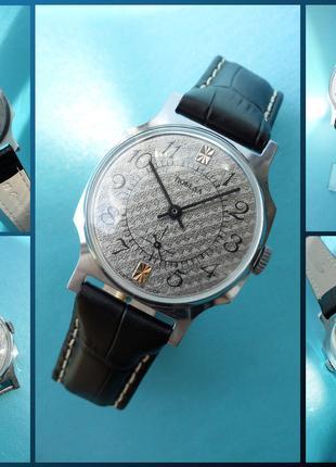 НОВЫЕ! Часы «ПОБЕДА», сделаны в СССР 80-х. наручные МУЖСКИЕ МЕХАН