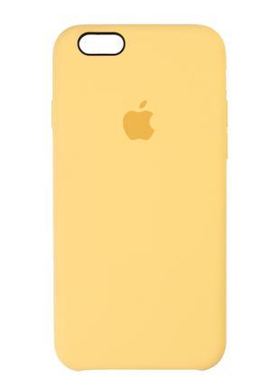 Чехол Silicone case для iPhone 6/6S Yellow