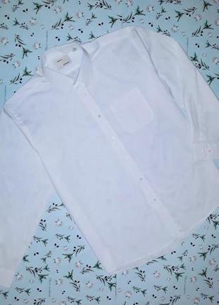 🎁1+1=3 фирменная белая рубашка с длинным рукавом greenwood, ра...