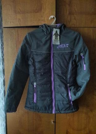 Термо курточка для девочки y.f.k. girls team. новая. 158-164