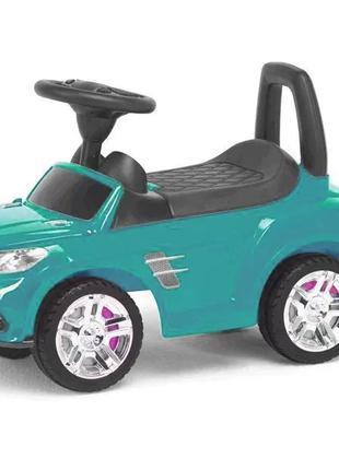 Машина-каталка детская с широкими колесами Colorplast бирюзовы...