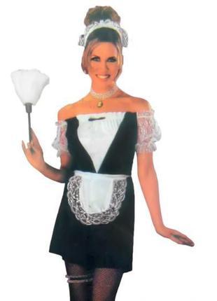 Взрослый карнавальный костюм Горничная (109949)