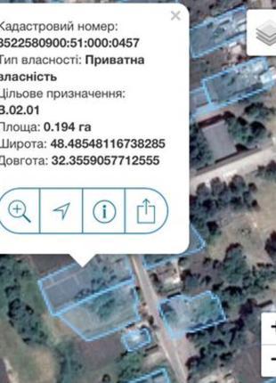 Земельна ділянка / земельный участок