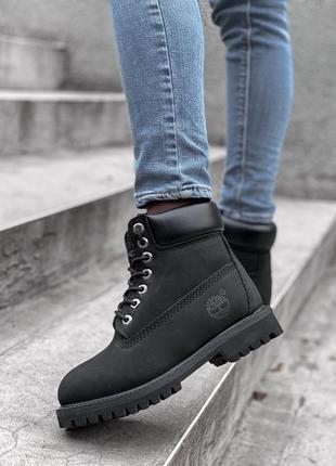 Ботинки женские timb (зима)