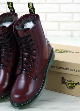 Ботинки женские dr martens (зима)