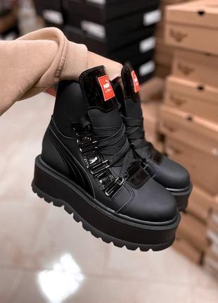 Шикарные ботинки puma x fenty (зима)
