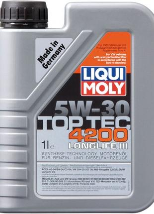 Моторное масло Liqui Moly Top Tec 4200 5W-30 1л.