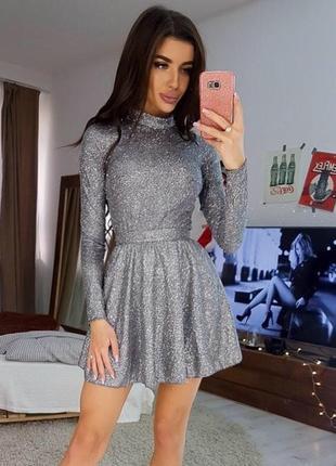 Платье «люрекс»