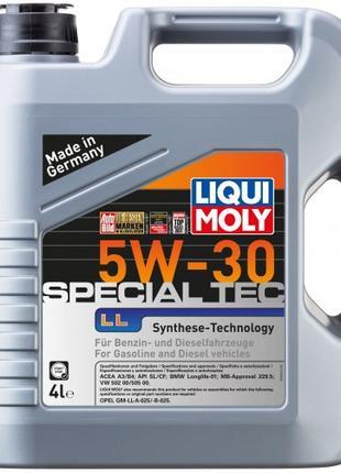 Моторное масло Liqui Moly Special Tec LL / OPEL 5W-30 4л.