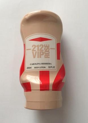 Парфюмированный  лосьон для тела carolina herrera 212 vip rose...