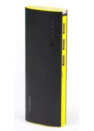 Power Bank Proda Star Talk PPP-11 12000 mAh Черно-Желтый