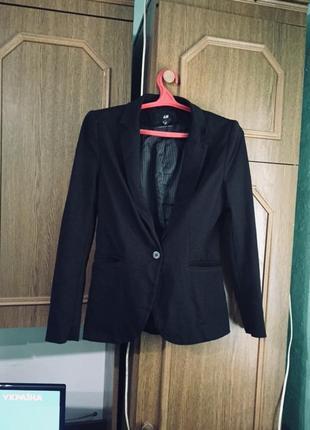 Пиджак жакет женский h&m размер 36