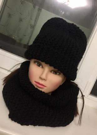Набор-комплект шапка с хомутом