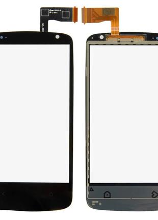 Сенсор для HTC 500, 506e Desire чорний
