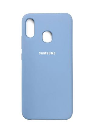 Накладка Original Silicone Case Samsung M10S blue