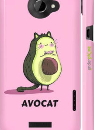 """Чехол на HTC One X+ Avocat """"4270c-69-2448"""""""