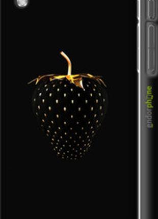 "Чехол на HTC Desire 816 Черная клубника ""3585c-169-2448"""