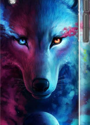 "Чехол на HTC Desire 816 Арт-волк ""3999c-169-2448"""