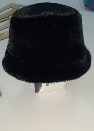 Шляпа женская зимняя из эко-меха