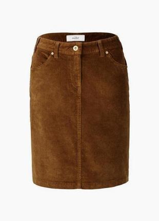 Вельветовая юбка-карандаш tcm tchibo