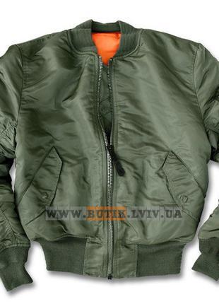 Оригинальная летная куртка MA-1 Alpha Industries (оливковая)