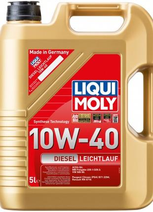 Моторное масло Liqui Moly Diesel Leichtlauf 10W-40, 5л.