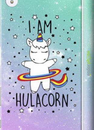 "Чехол на Sony Xperia Z5 Premium E6883 I'm hulacorn ""3976c-345-..."