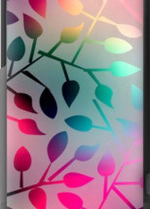 """Чехол на HTC One V t320e Листья """"2235u-227-2448"""""""