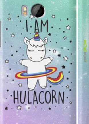 "Чехол на HTC One M8 dual sim I'm hulacorn ""3976c-55-2448"""