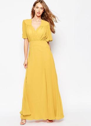 Нарядное платье в пол макси asos