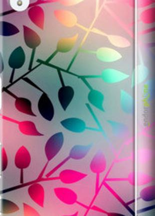 "Чехол на Sony Xperia Z5 Premium E6883 Листья ""2235c-345-2448"""