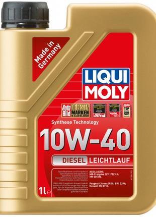 Моторное масло Liqui Moly Diesel Leichtlauf 10W-40, 1л.