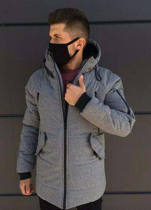 Зимняя куртка LS Stark Gray