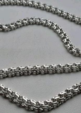 Новая Мужская серебряная цепочка